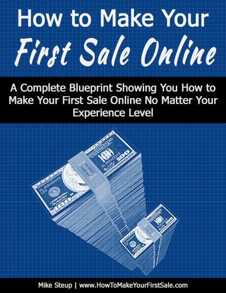 How To Make Your First Sale Online